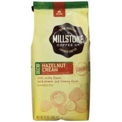 Millstone Hazelnut Cream Decaf Coffee, 12 Ounce