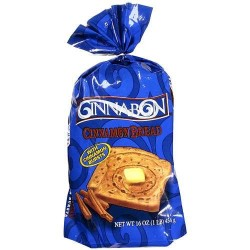 Cinnabon, Cinnamon Bread, 16 Ounce Loaves  (Pack of 2)