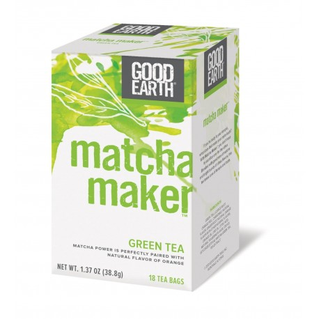 Good Earth Matcha Maker Green Tea, 18 Count Tea Bags
