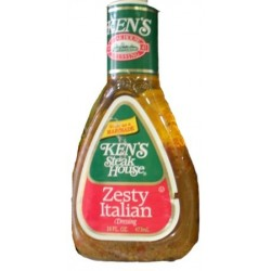 Ken's Steak House Zesty Italian Salad Dressing 16 Ounce