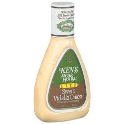 Ken's Steak House Dressing Lite Sweet Vidalia Onion 16 Ounce