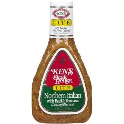 Ken's Light Northern Italian Dressing  16 Ounce
