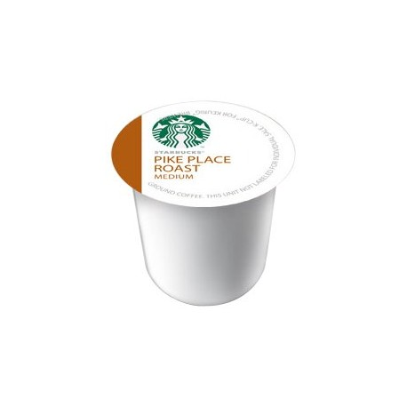 Starbucks Pike Place Roast, K-Cup Portion Pack for Keurig K-Cup Brewers, 10-Count