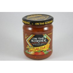 On The Border Salsa - Medium, 16 Ounce