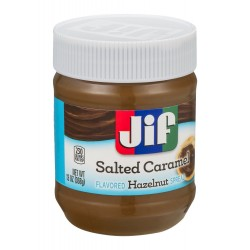 Jif Flavored Hazelnut Spread Salted Caramel 13 Ounce