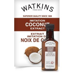 Watkins Extract 2 Ounce  Bottle Imitation Coconut