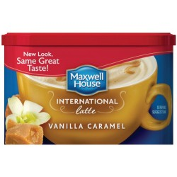 Maxwell House international coffee Vanilla Caramel Latte 8.7 Ounce Can