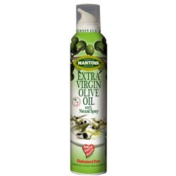 Mantova Spray Extra Virgin Olive Oil, 8.5-Ounce Spray