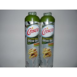 Crisco 100% Extra Virgin Olive Oil No stick cooking spray- Pack of 2