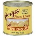 Giorgio Mushrooms, Pieces and Stems, 4 Ounce