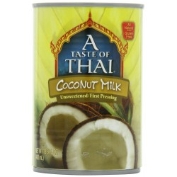 A Taste of Thai Coconut Milk, 13.5-Ounce Can