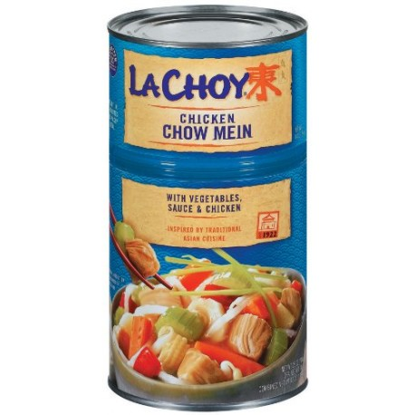 La Choy, Chicken Chow Mein with Vegetables, 42 Ounce Can