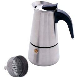 Chef's Secret Heavy-Gauge Stainless Steel 4-Cup Espresso Maker