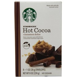 Starbucks Hot Cocoa Mix, Cinnamon Dolce, 8 Ounce
