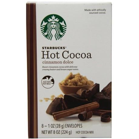 Starbucks Hot Cocoa Mix, Cinnamon Dolce, 8 Ounce