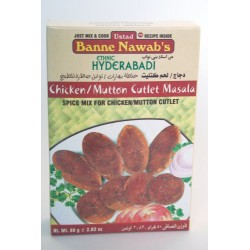 Banne Nawab Chicken/Mutton Cutlet Masala 80 Grams