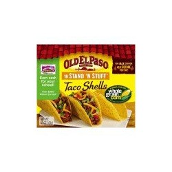 Roll over image to zoom in        Old El Paso Stand 'N Stuff Taco Shells, 4.7 Ounce