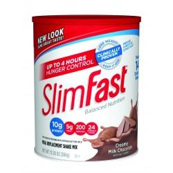SlimFast 3.2.1. Plan, Creamy Milk Chocolate Shake Mix, 12.83 Ounce