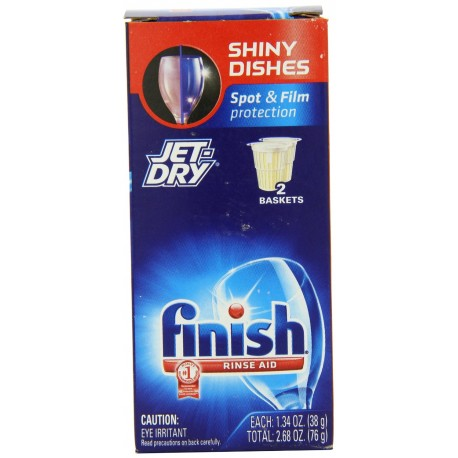 Finish Jet Dry Rinse Aid, Dishwasher Rinse Agent, 2.68 Ounce