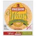 Mission Jalapeno Cheddar Tortilla Wraps, 6 Ct Package