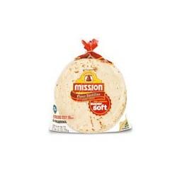 Mission Super Soft Fajita Size Flour Tortilla's 20 Count