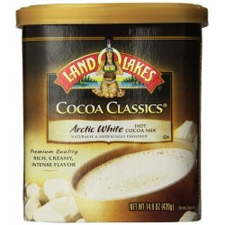 LAND O' LAKES Cocoa ClassicS Arctic White Hot Cocoa Mix - 14.8 Oz