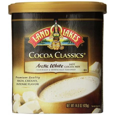 LAND O LAKES Cocoa ClassicS Arctic White Hot Cocoa Mix - 14.8 Oz