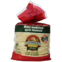 Guerrero 6 Inch White Corn Tortillas, 80 Count  4.58 Pounds