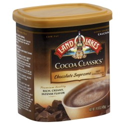 Land O'Lakes Hot Cocoa Classics Mix: Chocolate Supreme  14.8 oz