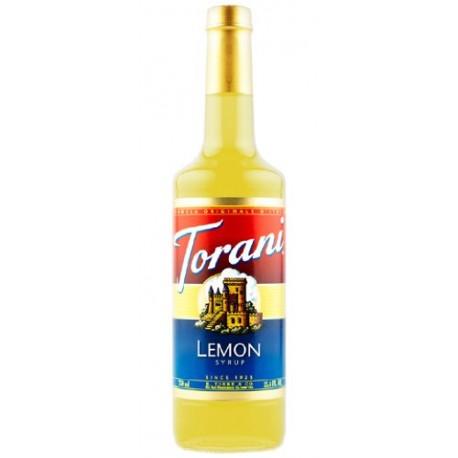 Torani Lemon Syrup 750mL