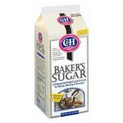 C & H Baker`s Sugar Ultra-Fine Pure Cane Sugar 4 lbs