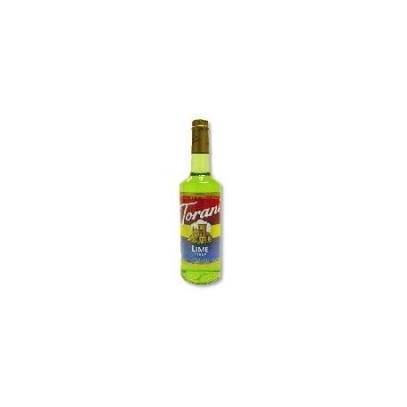 Torani Lime Syrup 750mL