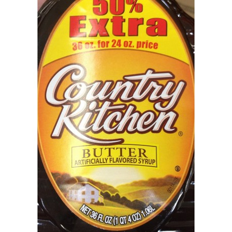 Country Kitchen Syrup 36 Ounce Bonus Pack