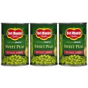 Del Monte No Salt Added Fresh Cut Sweet Peas, 15 Ounce (Pack of 3)