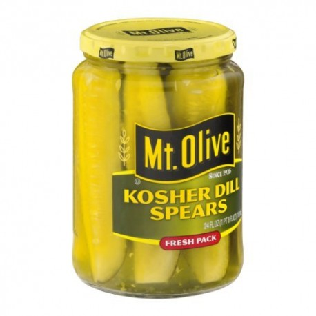 Mt. Olive Kosher Dill Spears 24 Ounce