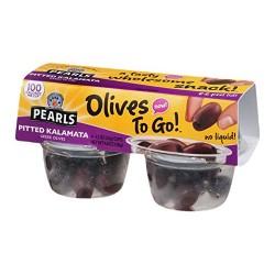 Pearls Pitted Kalamata Greek Olives - 4 ct