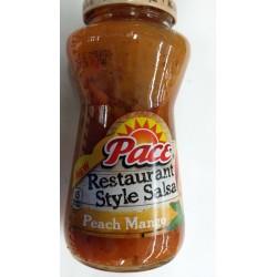 Pace Restaurant Style Peach Mango Salsa 16 Ounce