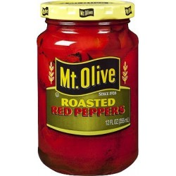 Mt. Olive Roasted Red Peppers - 12 ounce