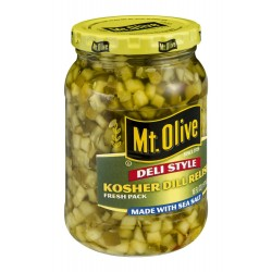 Mt. Olive Deli Style Kosher Dill Relish, 16 Ounce