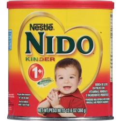 Nestle NIDO Kinder 1+ Powdered Milk Beverage, 12.69 oz. Canister