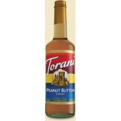 Torani Peanut Butter Syrup, 750 ml