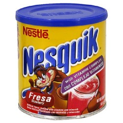 Nesquik Powdered Strawberry Drink, 14.1-Ounce Container