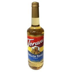 Torani English Toffee Syrup, 750 mL