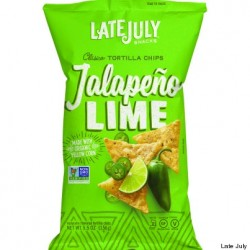 Late July Organic Jalapeno Lime Snack Chips 5.5 oz