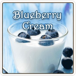 Blueberry Cream Flavored Coffee, 8 Ounce (Ground)