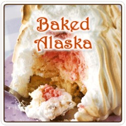 Baked Alaska Flavored Coffee, 8 Ounce (Whole Bean)