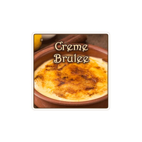 Creme Brulee Flavored Coffee, 8 Ounce (Whole Bean)