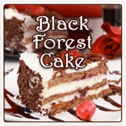 Black Forest Cake Flavored Coffee, 8 Ounce Whole Beans