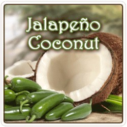 Jalapeno Coconut Flavored  Coffee 8 Ounce Ground