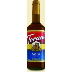 Torani Coffee Syrup 750mL